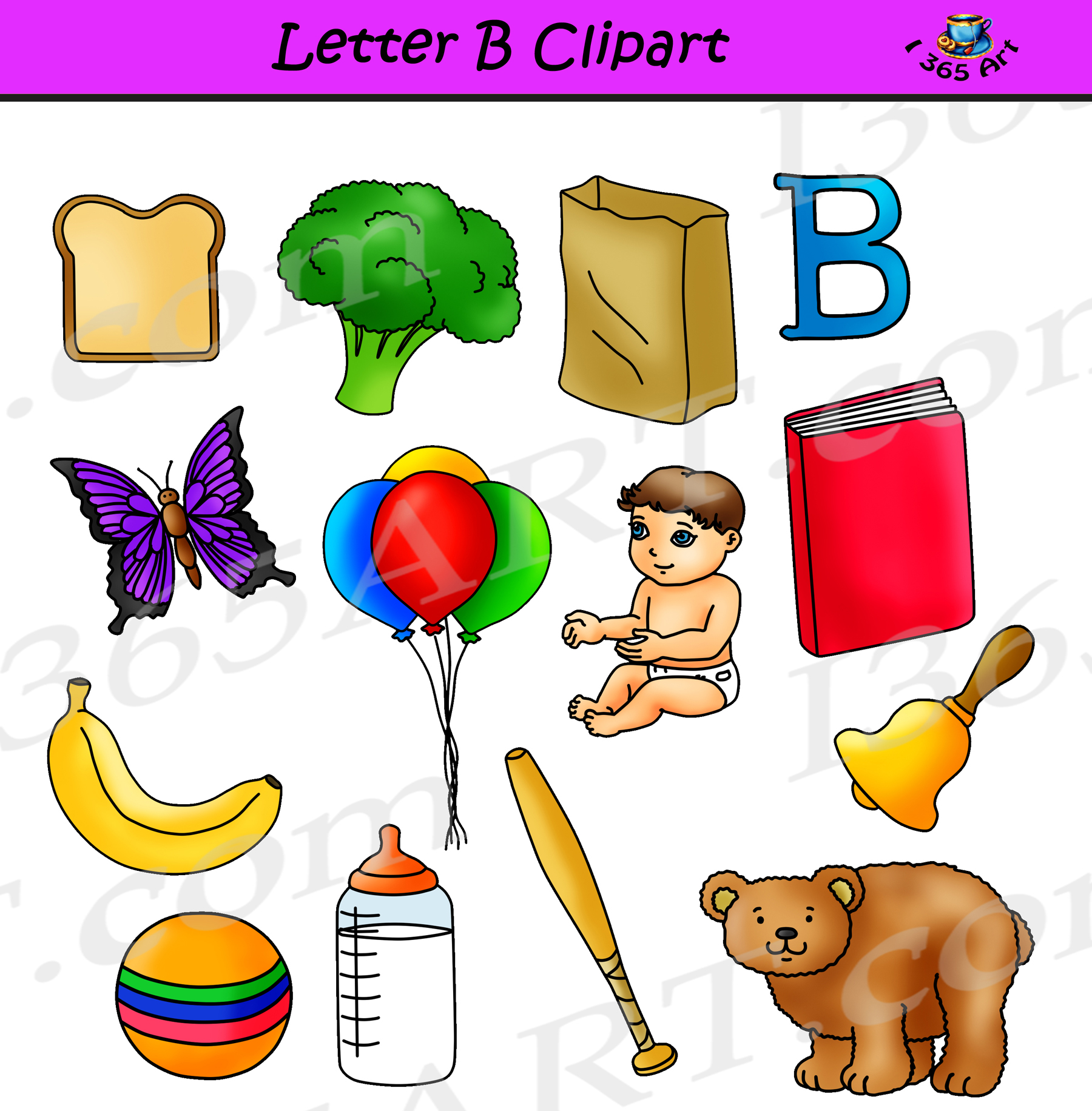 Letter Words Starting B