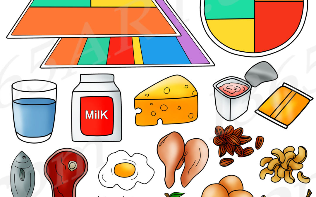 Food Pyramid Clipart Download for Commercial-Use