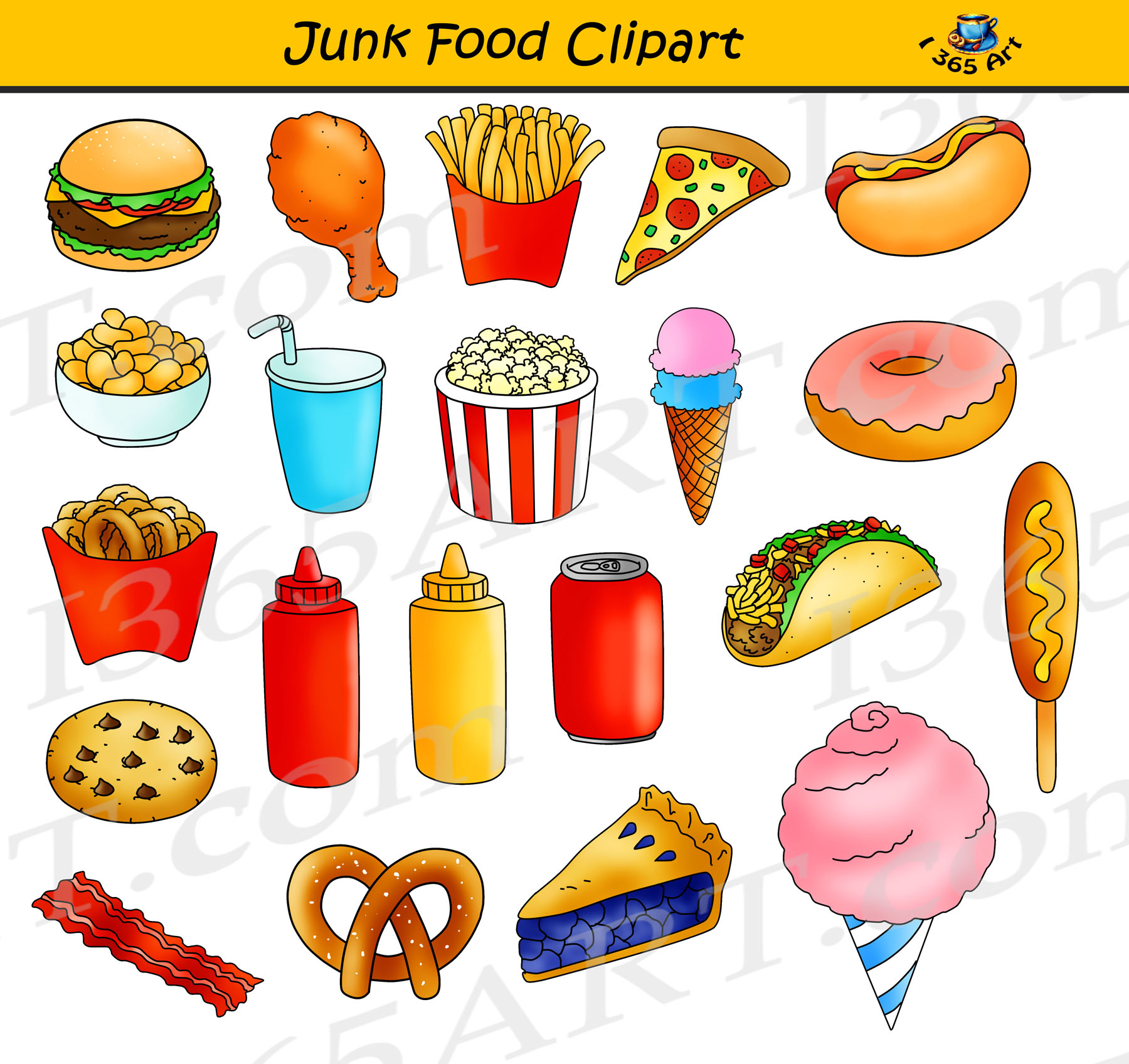 junk food clipart  fast food graphics commercial use clipart junk food clipart black and white junk food clipart