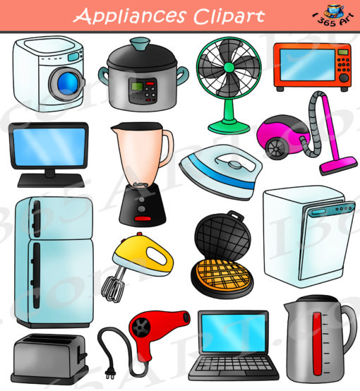 Appliances Clipart