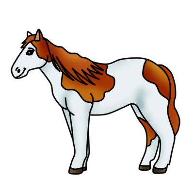 Spotted Horse Clipart Free