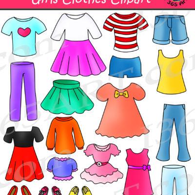girls clothes clipart archives clipart 4 school rh clipart4school com clothing clip art free images clothing clip art kids