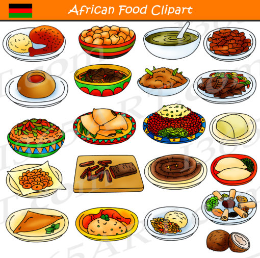 African Food Clipart