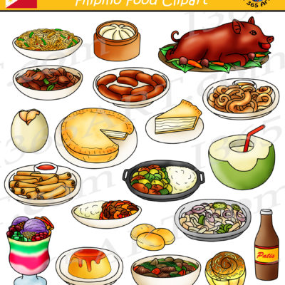 Filipino Food Clipart
