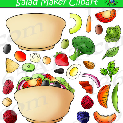 Build A Salad Clipart
