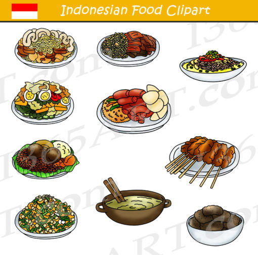 Indonesian Food Clipart