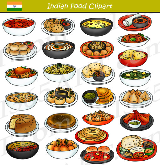 indian food clipart