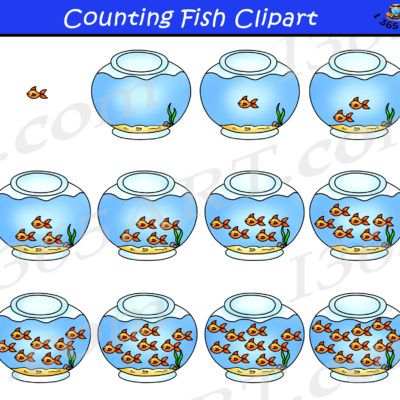 counting fish clipart