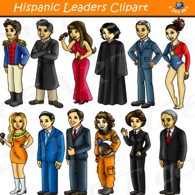 hispanic leaders clipart