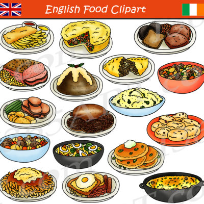 British food clipart