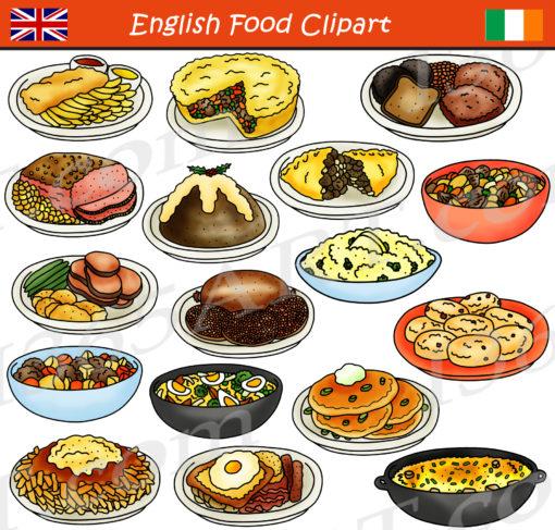 British food clipart