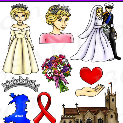 Princess Diana clipart