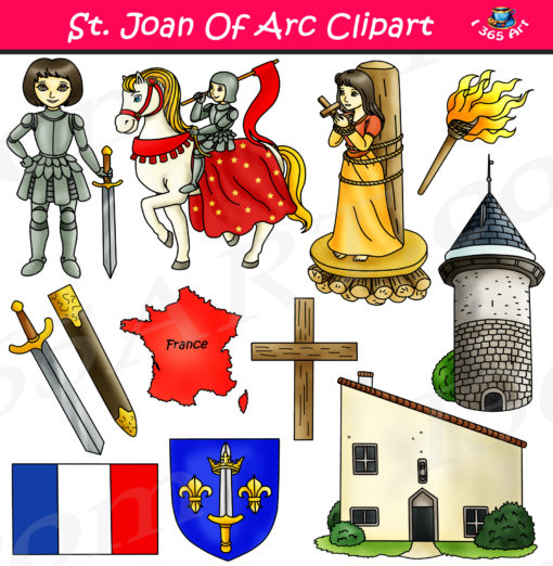 Joan of arc clipart