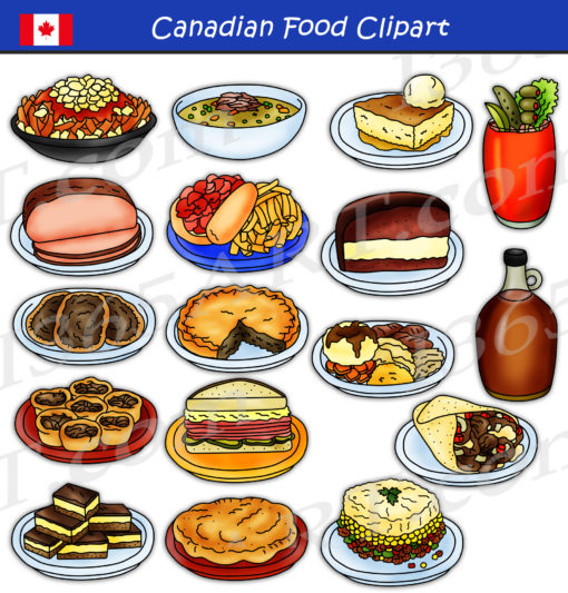 Canadian Food Clipart