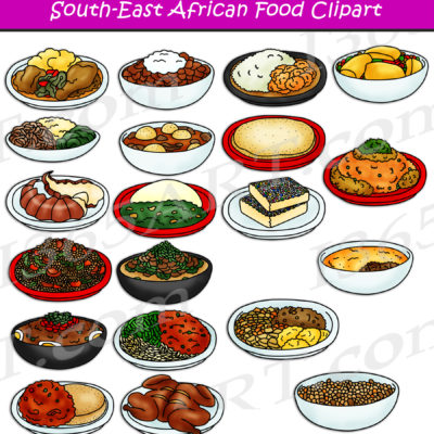 South African Food Clipart