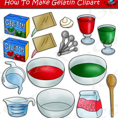 How To Make Gelatin Clipart