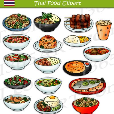 Thai Food Clipart