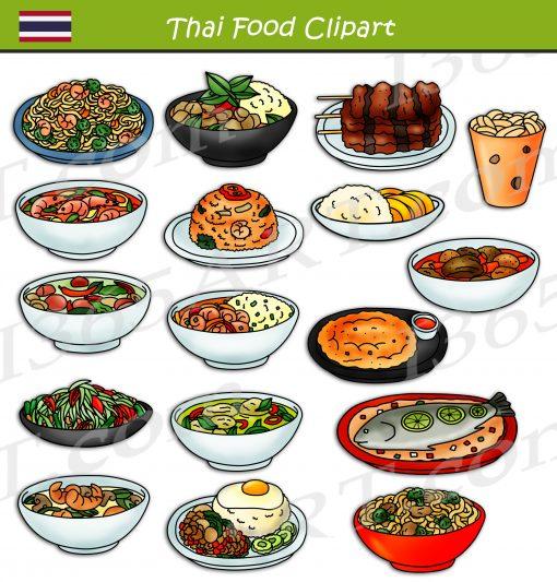 Thai Food Clipart