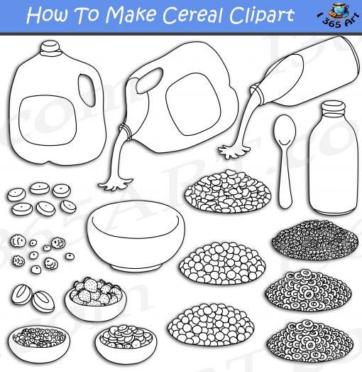 How To Make Cereal Clipart