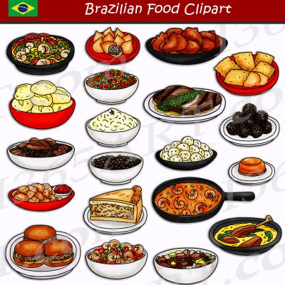 Brazilian Food Clipart