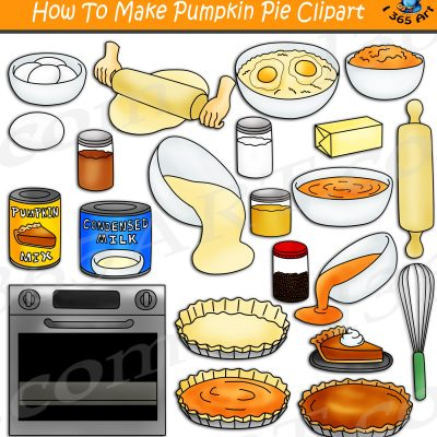 How To Make Pumpkin Pie Clipart