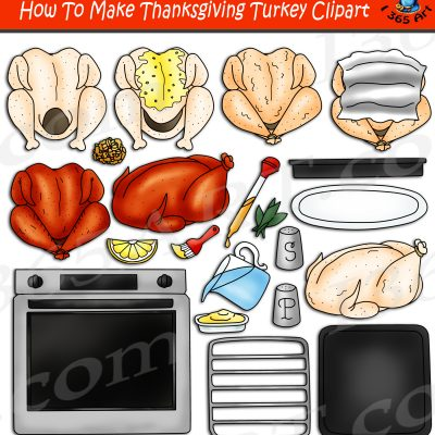 How To Make Thanksgiving Turkey Clipart